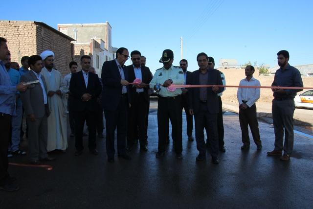 di-3Q2S افتتاح طرح هادی و کتابخانه روستای اسفشاد