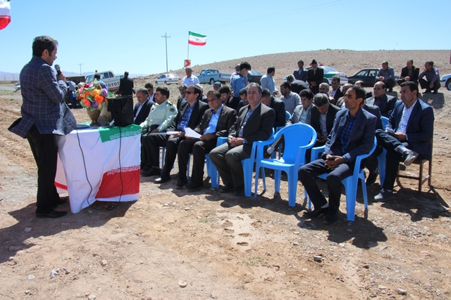 di-54YV افتتاح پروژههای عمرانی بخش سده