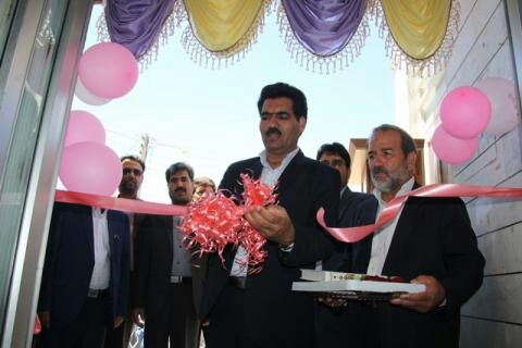 افتتاح مؤسسه خیریه احسان آسمانی قاین