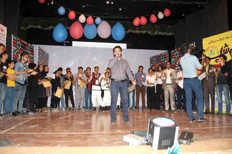 di-6CAV گزارشی از جشنی متفاوت جشن شب عاشقی نمونه بارزی از کار گروهی