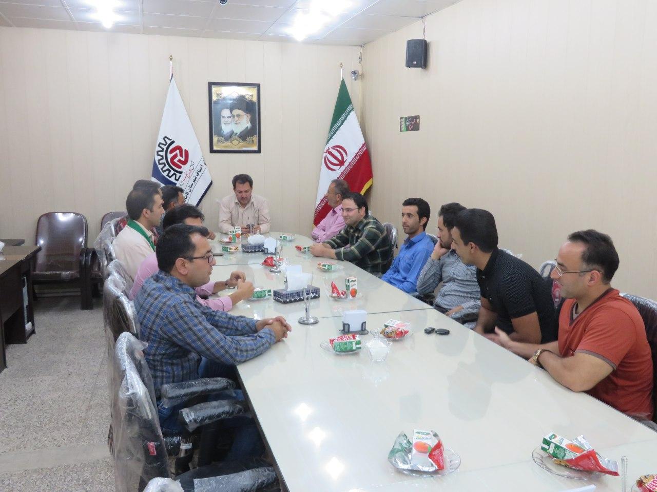 di-AOIO برگزاری جلسه طلا و جواهر شهرستان