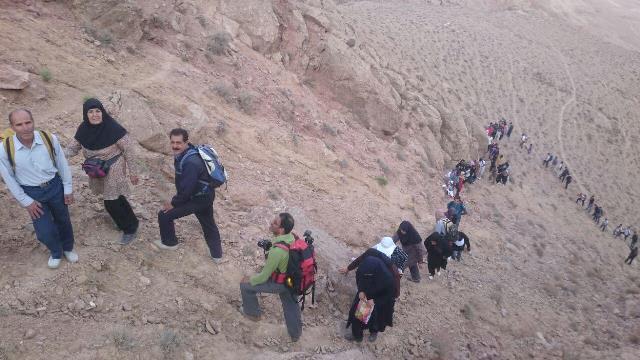 di-I7ER اولین همایش کوهپیمایی به مناسبت عید غدیرخم در قاین