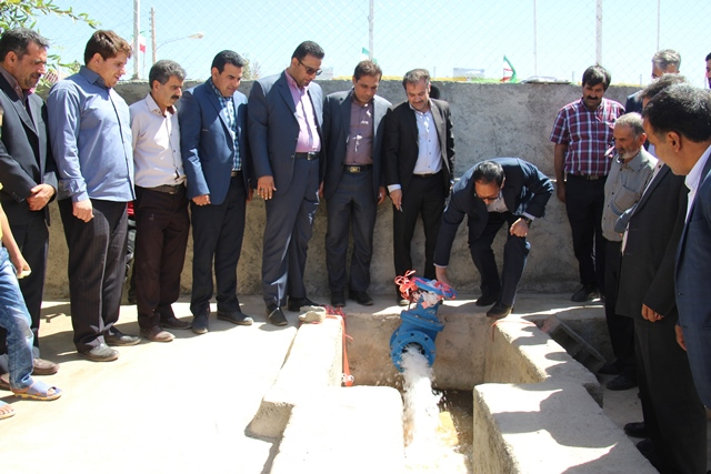 di-J228 افتتاح دو پروژه در روستای شاهیک