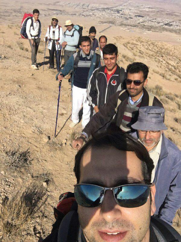 di-JAKI صعود به ارتفاعات ابوذر توسط کوهنوردان باشگاه ستاره کاویان
