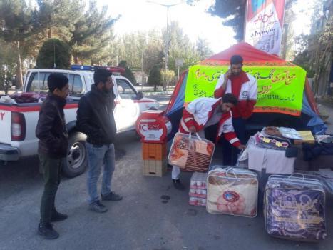 di-P5KC کمک 800 میلیون ریالی مردم قاینات به زلزلهزدگان