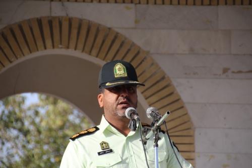 di-TWBG فرمانده انتظامی قاین: ایجاد امنیت در جامعه با مشارکت مردم میسراست