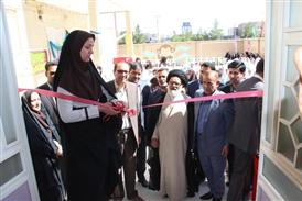 di-VYV9 افتتاح ساختمان 4 كلاسه و آزمايشگاه دبستان و پيشدبستاني هوشمند سما قاينات
