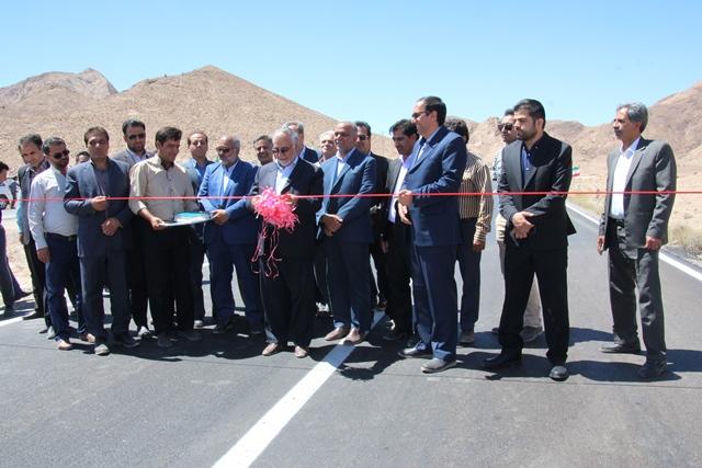 di-WPFM افتتاح روکش آسفالت راه قاین - زیرکوه