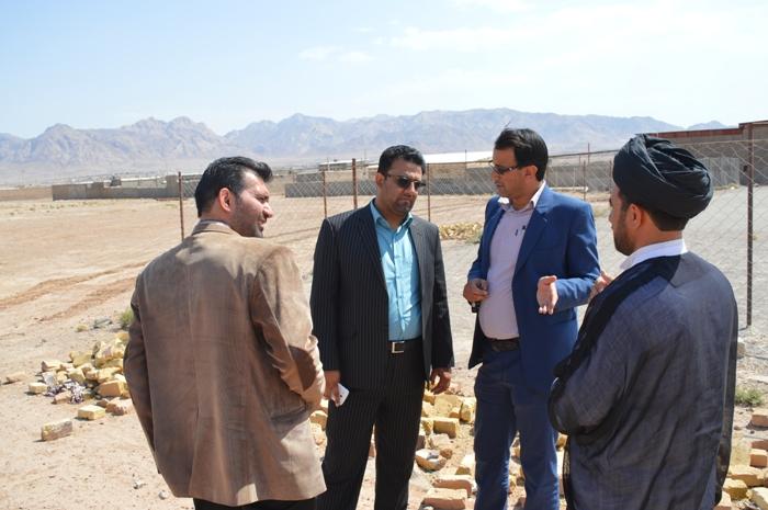 di-Z1BL بازدید بخشدار مرکزی از روستاهای ابوالخیری و فیروز آباد
