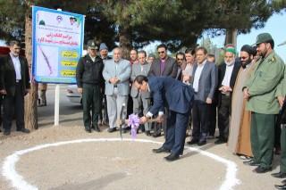 dm-K4GD کلنگ زنی تقاطع همسطح  و  میدان شهید کاوه