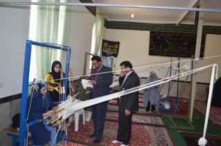 dm-O335 تأکید بخشدار مرکزی به توجه به صنایع دستی در روستاها